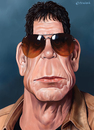 Cartoon: Lou Reed (small) by penava tagged lou,reed,karikatur,caricature,musik,musiker,musician,rock,music