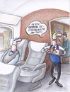 Cartoon: platzservice (small) by Petra Kaster tagged zug,bahnreisen,deutsche,bahn,toiletten,service