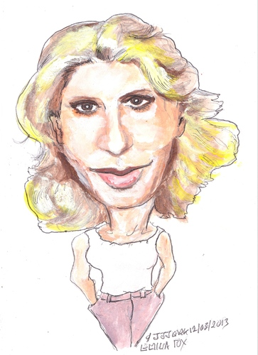 Cartoon: Emilia Fox (medium) by jjjerk tagged emilia,fox,actress,actor,cartoon,caricature,film,english,england