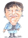 Cartoon: Breda (small) by jjjerk tagged breda ireland irish newport tipperary county cartoon caricature