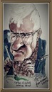 Cartoon: Fintan Clarke (small) by jjjerk tagged clarke,fintan,artist,wicklow,ireland,glasses,painter,famous