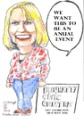 Cartoon: Madelaine Ebbs (small) by jjjerk tagged madelaine,ebbs,dublin,city,council,bealtaine,cartoon,caricature,ireland,irish,blue,jeans,blonde