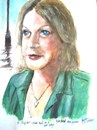 Cartoon: Margaret (small) by jjjerk tagged margaret,artist,irish,dublin,coolock,library,group