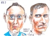 Cartoon: Person of Interest RTE (small) by jjjerk tagged person interest cartoon actor famous actors caricature america glasses blue television