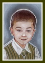 Cartoon: Andrei D (small) by Kidor tagged child,kidor