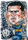 Cartoon: Roman Riquelme (small) by gogna caricaturas tagged riquelme