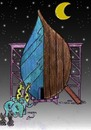 Cartoon: noah ship at 2012 (small) by Hossein Kazem tagged noah,ship,at,2012