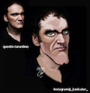Cartoon: quentin tarantino (small) by Hossein Kazem tagged quentin,tarantino