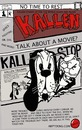 Cartoon: FRONT COVER OF KALLEN (small) by tonyp tagged arp kallen arptoons cartoon magazine comic book