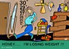 Cartoon: Losing weight (small) by tonyp tagged arp,weight,losing,arptoons