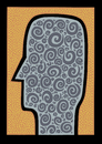Cartoon: Obsessive (small) by baggelboy tagged think,thought,thinking,spiral,abstract