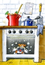 Cartoon: Hamsterbacken (small) by widmann tagged tiere,kochen