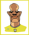 Cartoon: Maicon (small) by juniorlopes tagged world,cup,2010
