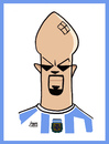 Cartoon: Veron (small) by juniorlopes tagged world,cup,2010