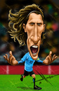 Cartoon: Forlan (small) by Mecho tagged soccer,forlan,uruguay,fifa