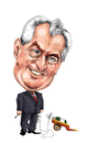 Cartoon: Milos Zeman (small) by ivo tagged wow