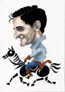 Cartoon: XAVI (small) by ivo tagged wow