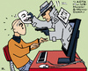 Cartoon: ACTA - Big Brother 2012 (small) by RachelGold tagged acta,copyright,internet,anonymous