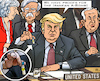 Cartoon: Iran-War? Proofs again (small) by RachelGold tagged iran,war,israel,usa,uk,proofs,bomb,nuke,deal,preparations,propaganda,warmongers,trump,netanyahu,may,bolton,powell,un,security,council