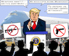 Cartoon: NRA-Logic? (small) by RachelGold tagged shooting,el,paso,dayton,trump,visit,nra,weapons