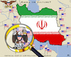 Cartoon: Presence of US-Military (small) by RachelGold tagged iran,war,usa,nuke,deal,preparations,propaganda,warmongers