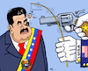 Cartoon: Tanz auf der Nase (small) by RachelGold tagged venezuela,usa,regime,change,trump,guaido,maduro,puppet,threat,war,oil