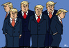 Cartoon: Trumps Team (small) by RachelGold tagged usa,president,trump,team,government