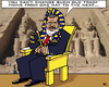 Cartoon: Very Old Traditions (small) by RachelGold tagged egypt,mursi,president,pharao,system