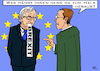 Cartoon: Zum Halse... (small) by RachelGold tagged eu,summit,romania,brexit,juncker