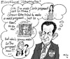 Cartoon: Electional Strategies (small) by MarkusSzy tagged france,sarkozy,bruni,strausskahn,lepen,presidency,election
