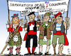 Cartoon: EU-Separatists (small) by MarkusSzy tagged eu,separatists