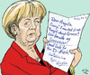 Cartoon: farewell letter (small) by MarkusSzy tagged france,germany,elections,farewell,letter