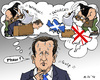 Cartoon: Just a Nightmare (small) by MarkusSzy tagged cameron,scotland,uk,referendum