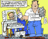 Cartoon: Tab-Proof (small) by MarkusSzy tagged usa,eu,nsa,observationscandal,snowden