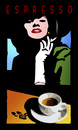 Cartoon: Cafe 1 (small) by Thomas Bühler tagged cafe,trinken,koffein,kaffee,tasse