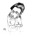 Cartoon: David BaldingerI by Elaf Nayer (small) by Nayer tagged david,baldingeri,elaf,nayer
