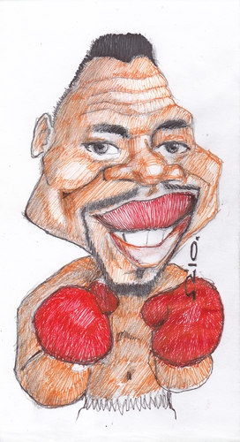 Cartoon: Cuba Gooding Jr (medium) by zed tagged cuba,gooding,jr,usa,actor,movie,oscar,hollywood,famous,people,portrait,caricature