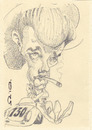 Cartoon: James Dean (small) by zed tagged james,dean,usa,icon,movie,hollywood,film,actor,portrait,caricature
