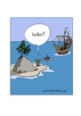 Cartoon: India! (small) by Butschkow tagged india,indien,entdecker,columbus,christopher,amerika,discover,usa,ship,boat,santa,maria,insel,island
