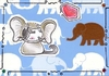 Cartoon: Kitty or Elephant (small) by Metalbride tagged traiding,card,crads,karten,karte,sammelkarte