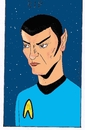 Cartoon: Leonard Nimoy (small) by kader altunova tagged raumschiff,enterprise