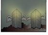 Cartoon: nein eleven (small) by kader altunova tagged twin,towers