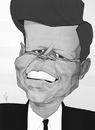 Cartoon: John Fitzgerald Kennedy (small) by Mattia Massolini tagged caricature,usa,president,jfk