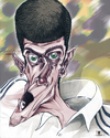 Cartoon: Novak Djokovic (small) by Mattia Massolini tagged serbia,caricature,novak,djokovitc,tennis,player