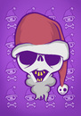 Cartoon: Christmas Skull (small) by Playa from the Hymalaya tagged christmas,weihnachten,xmas,santa,claus,weihnachtsmann,skull,schädel,totenschädel