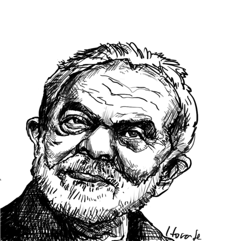 Cartoon: Lula (medium) by horate tagged corrupted