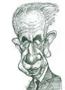 Cartoon: Shimon Peres (small) by horate tagged israel