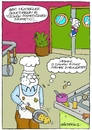 Cartoon: Omelette (small) by gultekinsavk tagged omelette,eat,omlet,restourant,chief,customer,complain