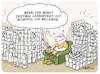 Cartoon: Corona Klopapier (small) by FEICKE tagged kopapier,corona,virus,hamster,hysterie,supermarkt