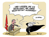 Cartoon: Erdogans Rechtsstaat (small) by FEICKE tagged erdogan,türkei,putsch,richter,justiz,entlassungen,verhaftung,militär